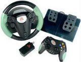Arsenal Gaming Wireless Wheel and Controller Pak - Wheel, gamepad and pedals set