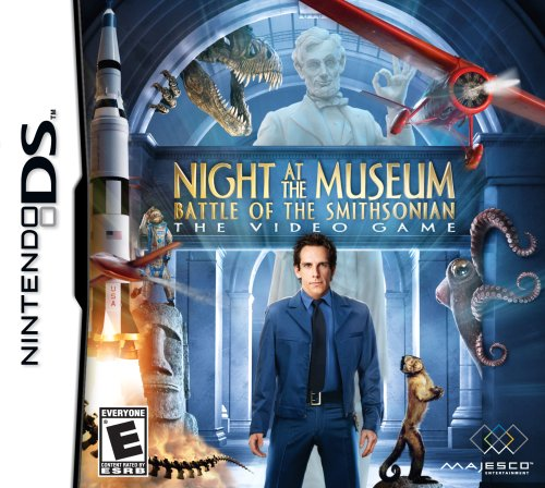 Night at the Museum Battle of the Smithsonian [EUR] [NDS]