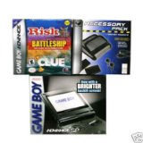 Gameboy Advance Sp Graphite Brighter Screen Gamer Pack Includes: Advance Sp, Acc