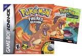 Pokemon FireRed with Wireless Adapter and Trainer's Guide