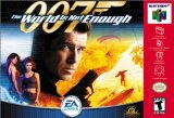 007: The World is Not Enough Nintendo 64 N64 Game Bond