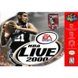 NBA Live 2000 Nintendo 64 N64 Game Basketball EA Sports