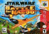 Star Wars: Battle for Naboo Nintendo 64 N64 Game