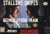 Demolition Man Super Nintendo SNES