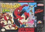 Spider-Man X-Men: Arcade's Revenge Super Nintendo SNES