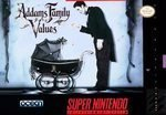 The Addams Family Values Super Nintendo SNES