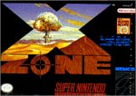X Zone Super Nintendo SNES Game PNP Games