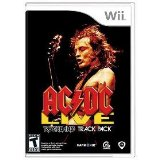 AC/DC Live Rock Band Track Pack Nintendo Wii Game NEW