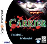 Carrier Sega Dreamcast COMPLETE Game