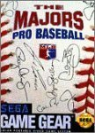 Majors Pro Baseball Sega Game Gear