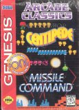 Arcade Classics - Missle Command, Centipede and Pong