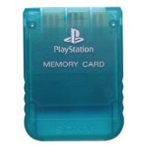 PS One Emerald Memory Card