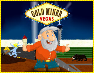 Play Gold Miner Vegas Game full screen - Colouredgames