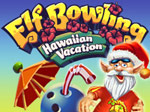 Elf Bowling - Hawaiian Vacation