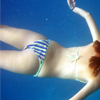 Girl Swimming Jigsaw Puzzle