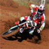 Motocross Bike Number 72