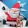 Santa And Rudolph Jigsaw Puzzle